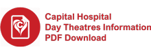 Capital Hospital Day Theatre Information