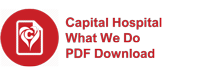 Capital Hospital What We Do